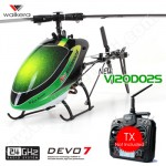 Walkera Dragonfly New V120D02S 6CH Flybarless RC Helicopter BNF 2.4GHz Without Transmitter