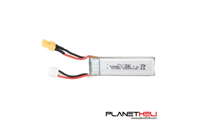 XK K130 Original battery 7.4V 600mAh 25C 2S Lipo Battery With XT30