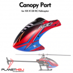 XK K130 RC Helicopter High Quality Canopy