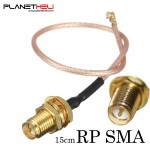 Pigtail Cable RP-SMA female adapter to U.FL IPX connectors RG178 15cm