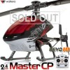 Walkera Dragonfly Master CP 6CH CCPM Flybarless RC Helicopter RTF 2.4GHz w/ Devo 10 White TX