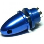 RC Model 3.17mm Hole Blue Metal Propeller Adapter