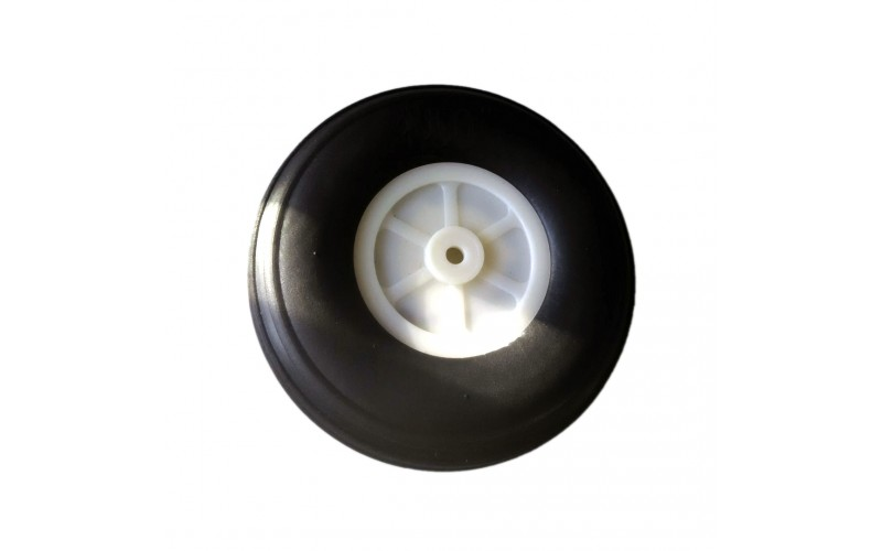 70MM Rubber Wheel For RC Airplane And DIY RC Plane 3mm hole