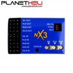 NX3 3D Flight Controller Gyroscope Balancer for Fixed Wings 3-axis Aircraft Support Analog and Digital Servo