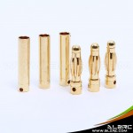 ALZRC - Gold-plated banana plugs - 4.0mm