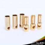 ALZRC - Gold-plated banana plugs - 5.5mm