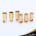 ALZRC - Gold-plated banana plugs - 6.0mm