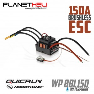 Hobbywing Quicrun WP-8BL150 Waterproof Brushless ESC 150A For RC Car