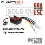 Hobbywing Quicrun 60A Waterproof Brushed ESC Controller for 1:10 RC Car