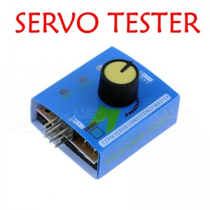 ECS Multi Servo Tester 3CH Consistency Speed Controler