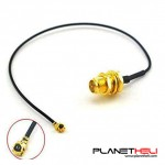RF Coaxial 2.4G UFL U.FL IPX Ipex Female to RP-SMA Female Jack Pigtail 17cm Connector Plug