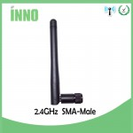 Antenna 2.4GHz 10W 3.0dBi folding rod for transmitter Frsky Futaba Devo Spektrum RP SMA Male Connector