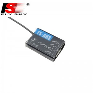 Flysky FS-A8S 2.4G 8CH Mini Receiver with PPM i-BUS SBUS Compatible FS i6 FS i6S