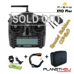 FrSky 2.4GHz ACCST TARANIS X9D PLUS SPECIAL EDITION and X8R Combo with Eva Case (Mode 2)