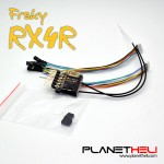 FrSky RX4R 4/16 telemetry Receiver ultra small and super light 6 pwm output