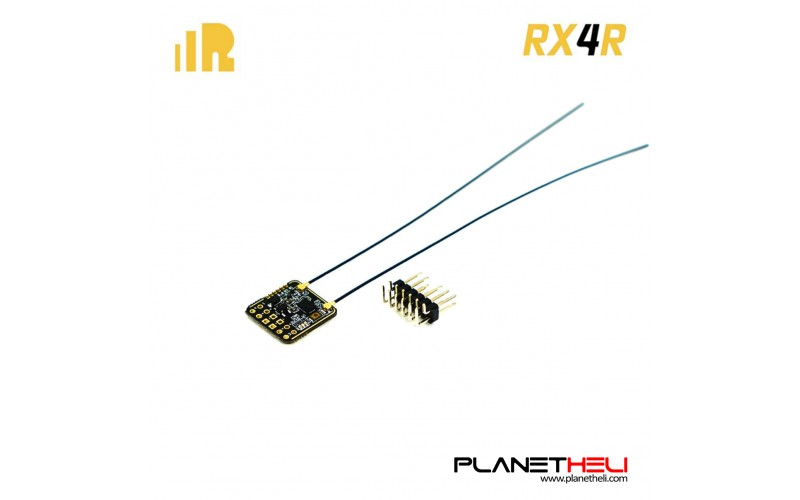 FrSky RX4R 4/16 telemetry Receiver ultra small and super light (without pin)