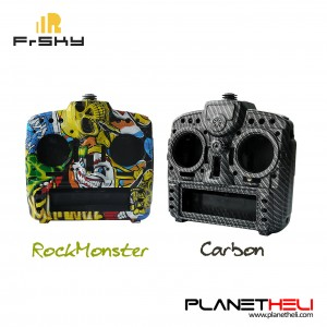 Orginal Frsky Taranis X9D Plus Transmitter Remote Controller Spare Part Carbon Fiber / Rock Monster Custom Shell Case Protector