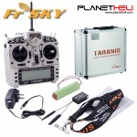 FrSky 2.4GHz ACCST TARANIS X9D PLUS and X8R Combo with Alu Case (Mode 2)