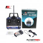 Flysky FS-CT6B High Precision 2.4G CT6B 6ch Transmitter with FS-R6B Receiver