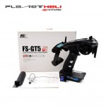 Flysky FS-GT5 2.4G 6CH Transmitter with FS-BS6 6CH Receiver Built-in Gyro Fail-Safe for RC Car Boat