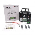 Flysky FS-i6X 2.4GHz 10CH AFHDS 2A RC Transmitter With ia10b Receiver