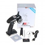 Flysky New FS-GT2B 2.4G 3CH Gun RC Radio System Transmitter with receiver