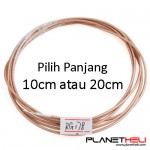 DIY Transmitter Antenna Extension Cable Line RF Coaxial RG178 - 10cm atau 20cm