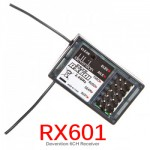 Walkera Devention 6CH 2.4Ghz RX601 Receiver For Devo Transmitter