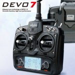 Devention DEVO 7 2.4GHz 7-channel Devention Transmitter With Receiver