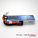 Gens ace 3300mAh 14.8V 45C 4S1P Lipo Battery Pack with T Plug