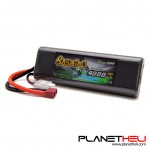 Gens ace bashing series 4000mAh 2S1P 7.4V 50C HardCase 8# Lipo Battery pack with T-plug