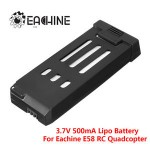 Eachine E58 WiFi FPV RC Quadcopter Spare Parts 3.7V 500MAH Lipo Battery Replacement