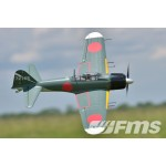 FMS 1100mm Zero A6M5 KIT Include Retract Landing Gear RC Plane (11Kg , 13)