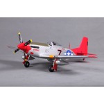 FMS 800mm P51(V2) Red Tail KIT RC Plane (5Kg 7)