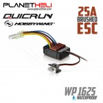 Hobbywing Quicrun 25A Waterproof Brushed ESC Controller for 1:16, 1:18 RC Car